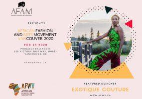 AFAM Featured Designer Exotique Couture 1