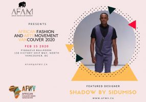 AFAM Featured Designer SHADOW BY SIDUMISO